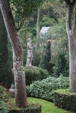 Garden Statue Portmeirion Hotel, The Village, North Wales Stock Image