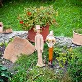 Garden statues Stock Images
