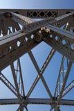 Garden Steel Bridge, Shanghai, China Royalty Free Stock Photo