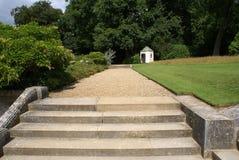 Garden steps Royalty Free Stock Image