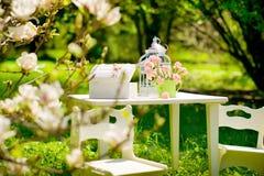 Garden still life Stock Photo
