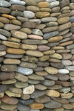 Garden stone. Rows of stone in a garden in Mexico royalty free stock images