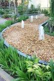 Garden stone designs Stock Photo