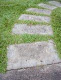 Garden stone nature Stock Photos