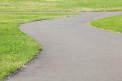 Garden stone nature pathway Stock Photo