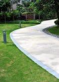 Garden stone path Royalty Free Stock Image