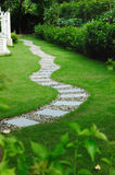 Garden stone path Stock Photo