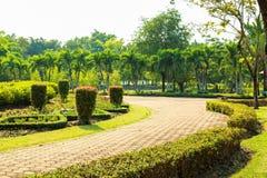 Garden stone path Stock Image