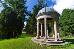 Garden stone pavilion Royalty Free Stock Photography