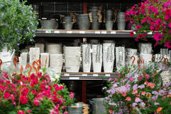 Garden store Royalty Free Stock Image