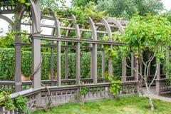 Garden structire. Italian style structure at Hamilton Gardens, Nee Zealand Royalty Free Stock Image