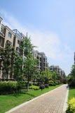 Garden-style residence Royalty Free Stock Photo