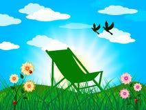 Garden Summer Represents Heat Home And Season Stock Photo
