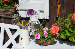 Garden Cottage in the summer Royalty Free Stock Image