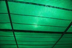 Garden sun shade cloth or shade net sun light protecting. Stock Photos