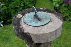 Garden Sundial Stock Images