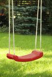 Garden swing Royalty Free Stock Image