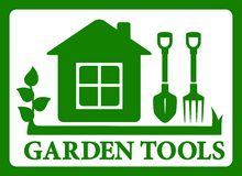 Garden symbol icon Stock Images