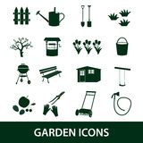 Garden symbols icons eps10 Stock Photography