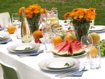 Garden table Royalty Free Stock Photos