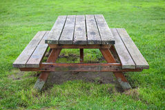 Garden table royalty free stock image