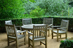 Garden Table Stock Images