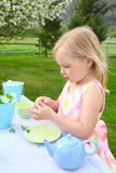 Garden tea Stock Photos