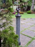 Garden temperature thermometer royalty free stock image