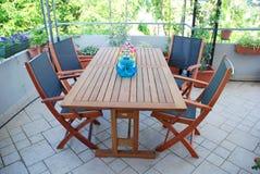 garden terrace Royalty Free Stock Photography