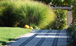 Garden terrace design Royalty Free Stock Photos
