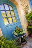 Garden on a terrace Stock Photo