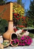 Garden terrace Stock Image