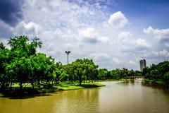 Garden in Thailand Chatuchak 33. Public park Stock Image