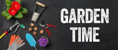 Garden time royalty free stock photo