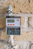 Garden Timer. For water irrigation system Royalty Free Stock Photos
