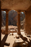 Garden Tomb, Petra Stock Photo