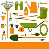 Garden tool. Vector background. Garden tool on  white background.  Vector background Stock Images