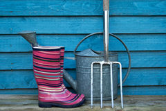 Garden tools Stock Photos
