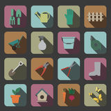 Garden tools icon Royalty Free Stock Photography