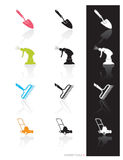 Garden Tools Icon (Vector)  Royalty Free Stock Photos