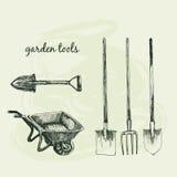 Garden tools. Royalty Free Stock Photos