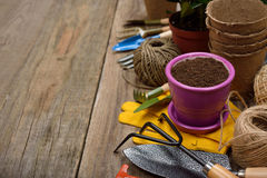 Garden tools Stock Photos