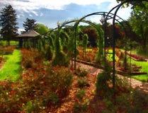 Garden trellises Stock Photography