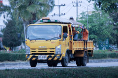 Garden truck of Department of Highways. Stock Images