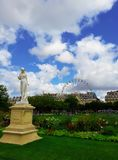 Garden of Tuileries Stock Images
