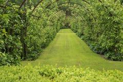 Garden tunnel Stock Photos