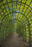 Garden tunnel Royalty Free Stock Images