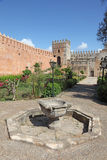 Garden of Udayas Kasbah, Rabat Stock Images
