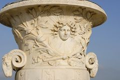Garden urn at Versailles palace Stock Photography