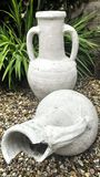 Garden Urns Stock Photo